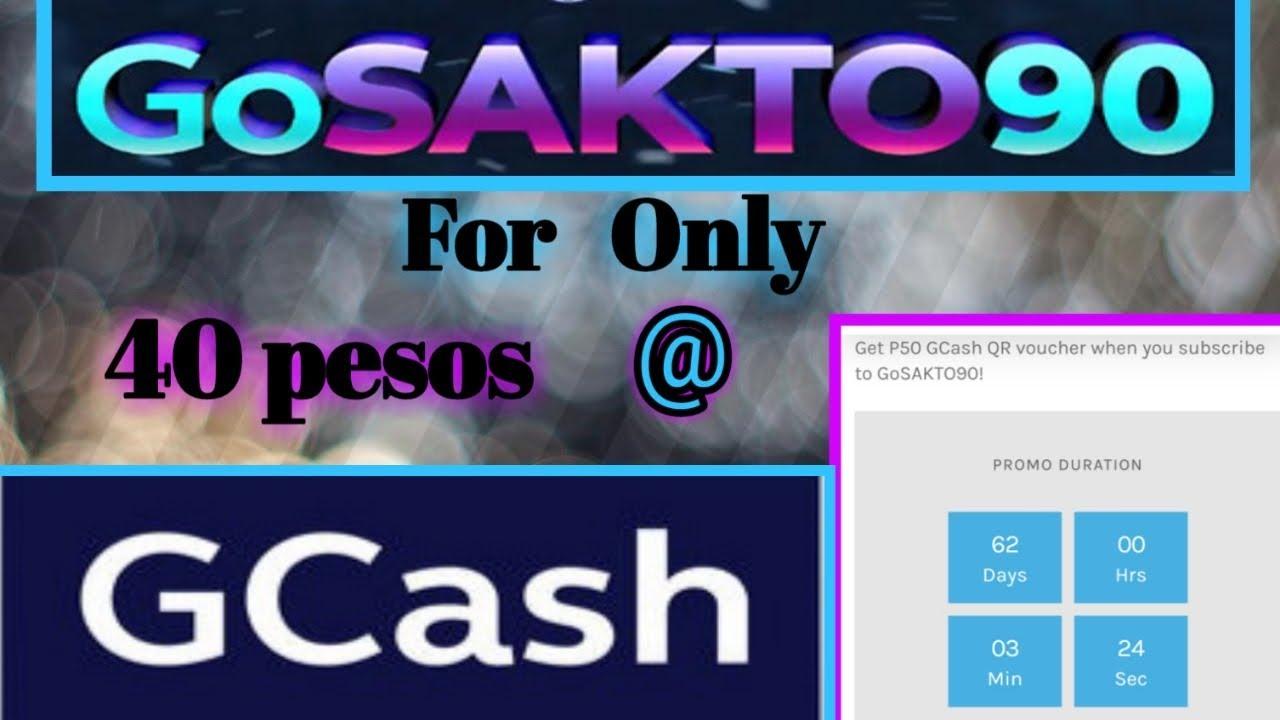 GOSAKTO90 FOR ONLY 40 PESOS @ GCASH #GCASH #GCASHPROMO #GCASHGOSAKTO90
