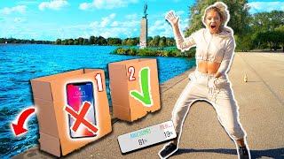 Schubse NICHT das iPHONE ins Wasser! (ihr entscheidet) Simon vs Enisa