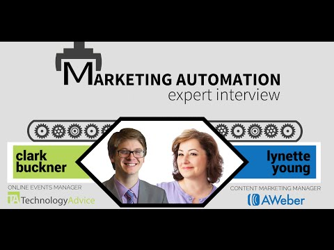 Marketing Automation Tools: Webinar with AWeber