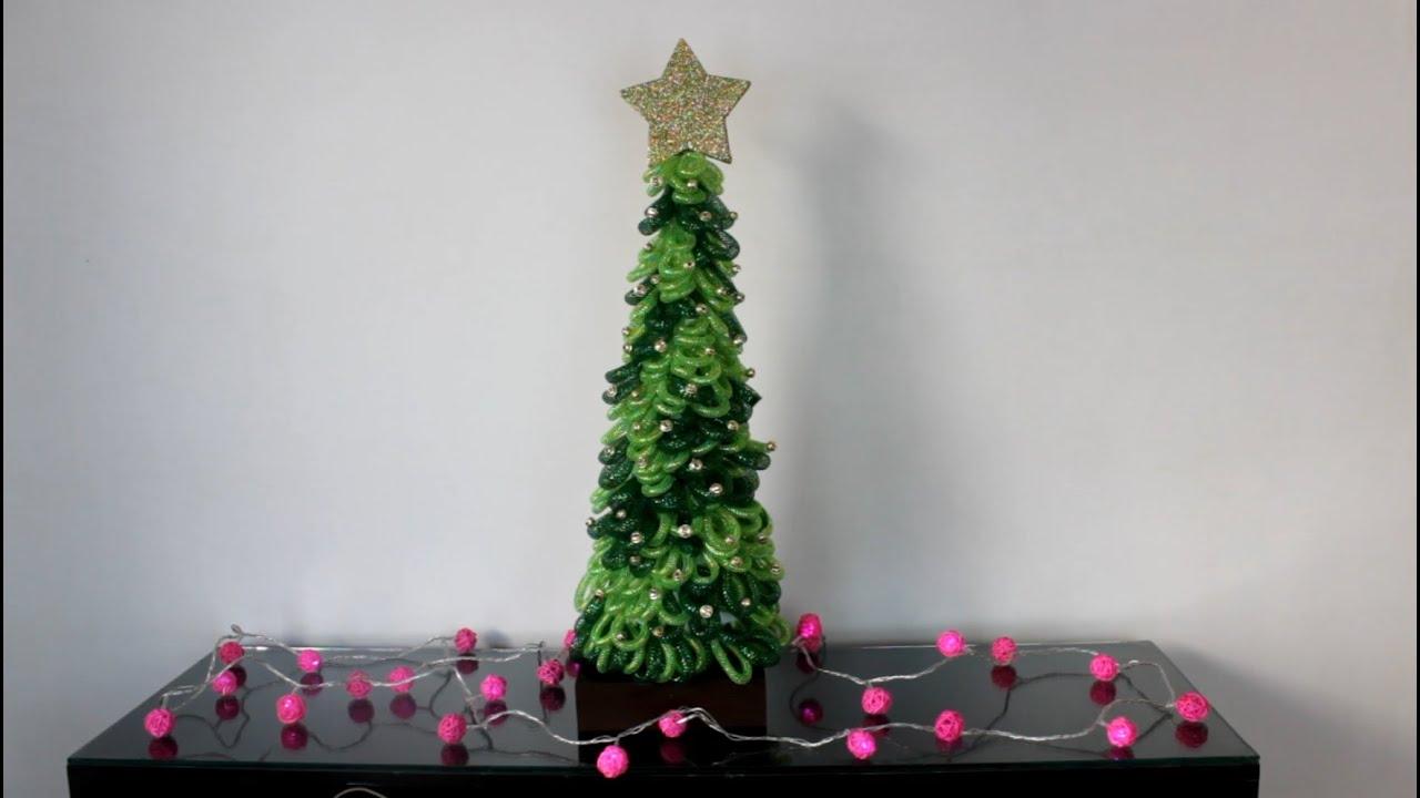 Como hacer un pino de navidad