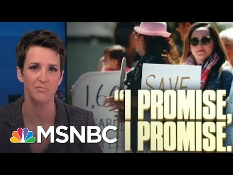 Americans Face Impact Of New GOP Health Care | Rachel Maddow | MSNBC
