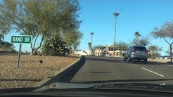 Drive through fountain hills Arizona