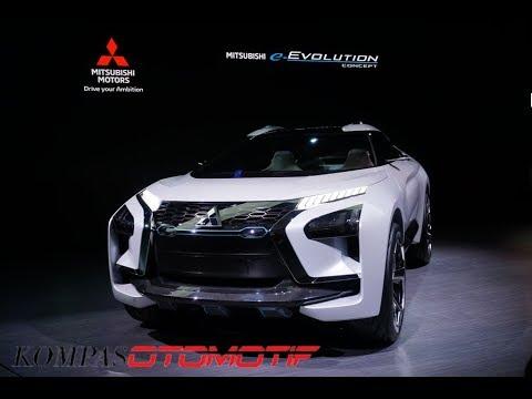 Tengok Lebih Dekat Mitsubishi e-Evolution Concept
