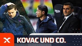 Ernesto Valverde, Niko Kovac & Co.: Diese Trainer mussten in der Saison 2019/20 gehen