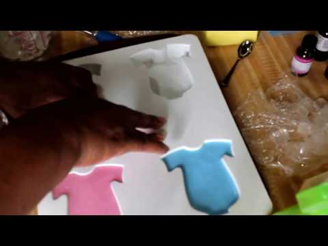 Making Melt & Pour Baby Soaps Speed up Version