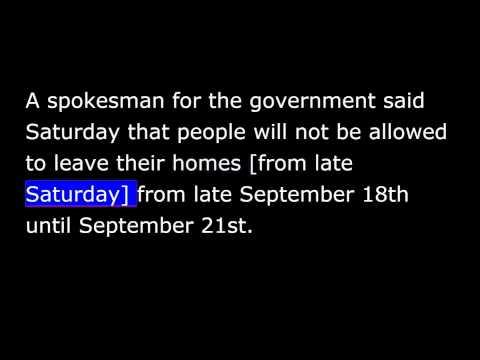 VOA news for Sunday, September 7th, 2014