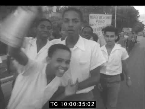 Protest Meeting Over Patrice Lumumba's Assassination | Cuba | February 1961
