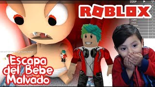 Baby Evil in Roblox ESCAPE THE BAD BABY ? Roblox Obby Chapter 3