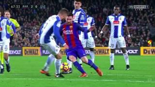 vuclip Lionel Messi dribbling masterclass | Barcelona vs Espanyol [4-1], December 2016 | HQ