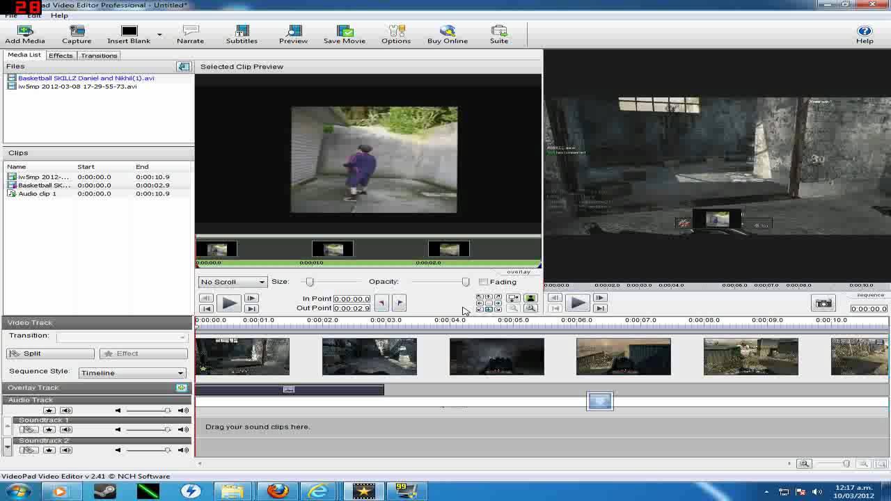 Split Screen Effect VideoPad (HD) - YouTube