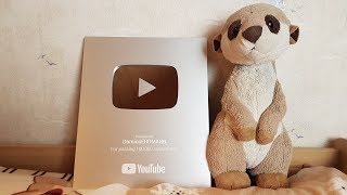 Unboxing the YouTube Silver Play Button!