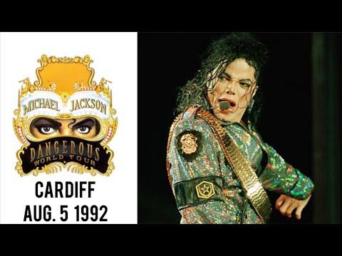 Michael Jackson - Dangerous Tour Live In Cardiff (5.8.1992)