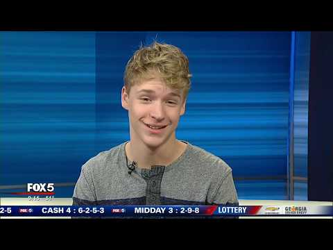 Repeat Baylee Littrell on Good Day Atlanta by FOX 5 Atlanta