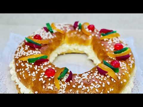 roscón-de-reyes-/-brioche-des-rois-espagnol-aux-fruits-confits-et-à-la-chantilly