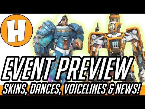Overwatch Dance Emote, New Skin + Voice Line Previews! (Overwatch Anniversary News) | Hammeh