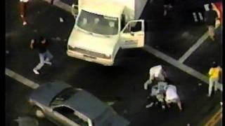 LA Riot News Footage 1992  Pt.2