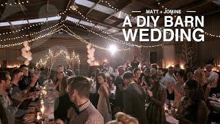 Auckland Barn Wedding  -  Matt + Jomine