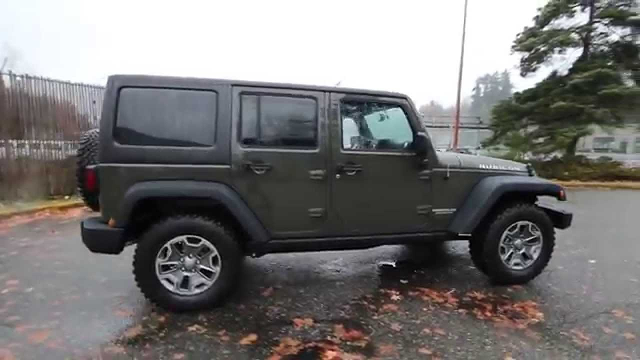 2015 Jeep Wrangler Unlimited Rubicon Tank Fl572166
