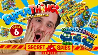 SUPERTHINGS SECRET SPIES PRIMERAS IMAGENES SUPERZINGS SERIES 6 en Pe Toys