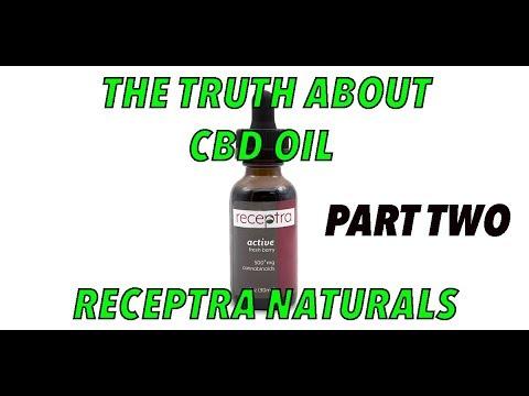 CBD Oil Lab Sample Preparation - Receptra Naturals