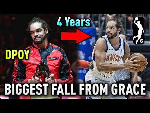 From DPOY & MVP Candidate To The G-League Within 4 YEARS! | What Happened To Joakim Noah