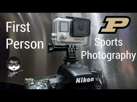 First-Person Sports Photography: Illinois @ Purdue 11-4-17