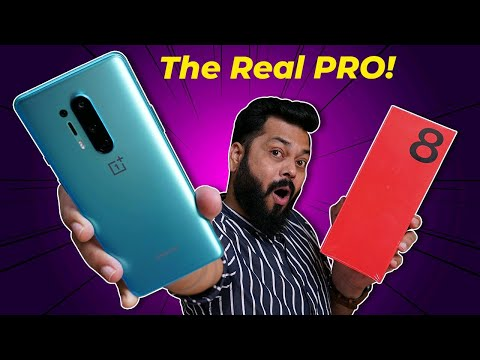 OnePlus 8 Pro India Variant Unboxing & First Impressions ⚡⚡⚡ A Complete Flagship??