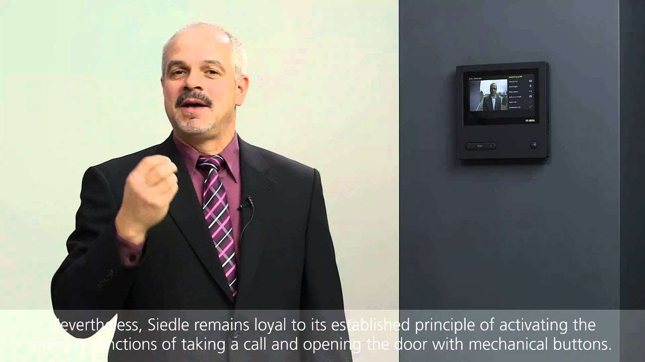 video panel for siedle access - youtube