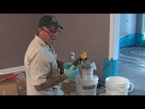 Epoxy Sealer Application on Concrete