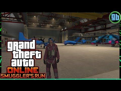 GTA Online: Smuggler's Run | Hangar and Aircraft