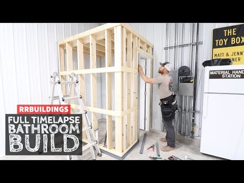 Building A Small Bathroom In The Garage