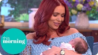 Amy Childs Introduces Her Daughter Polly to Holly and Rylan | This Morning