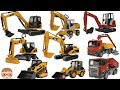 Excavator videos for children  Trucks for Kids ...