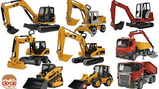Excavator videos for children | Trucks for Kids | Construction trucks for children |   bruder toys