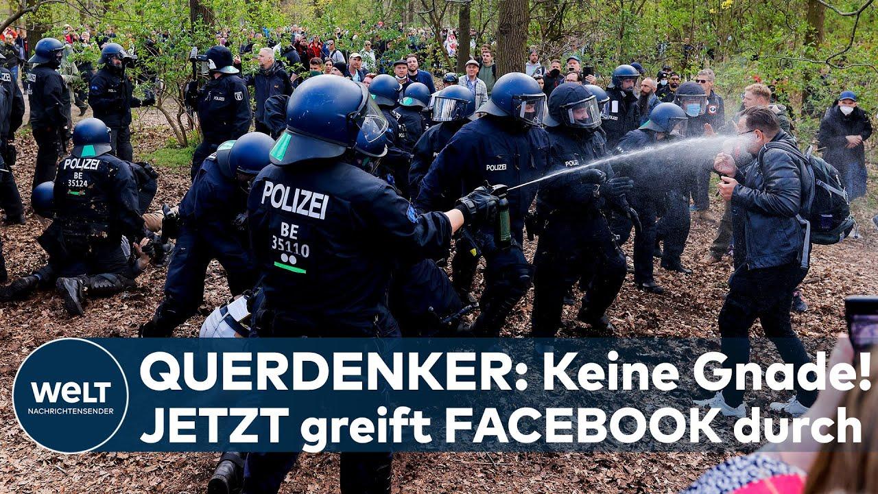 """Download QUERDENKER: Keine Gnade! """"Schädliches Netzwerk!"""" Jetzt greift Facebook richtig durch I WELT News"""