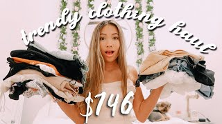$746 CLOTHING HAUL x PRINCESS POLLY BOUTIQUE