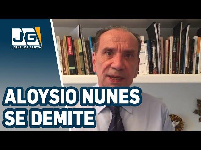 Alvo da Lava Jato, Aloysio Nunes se demite do governo Doria