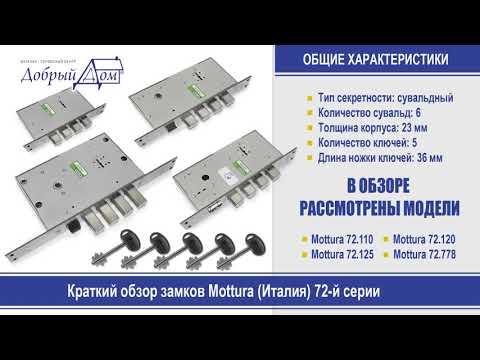 Краткий обзор замков Mottura 72-й серии. Добрый дом, Одесса