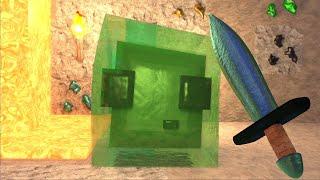 Minecraft Slime Encounter #Shorts