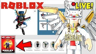 🔴 ROBLOX LIVE 🔴 echa un vistazo a tus avatares de Roblox y te sigue + Robux Card Giveaway + LABOR DAY