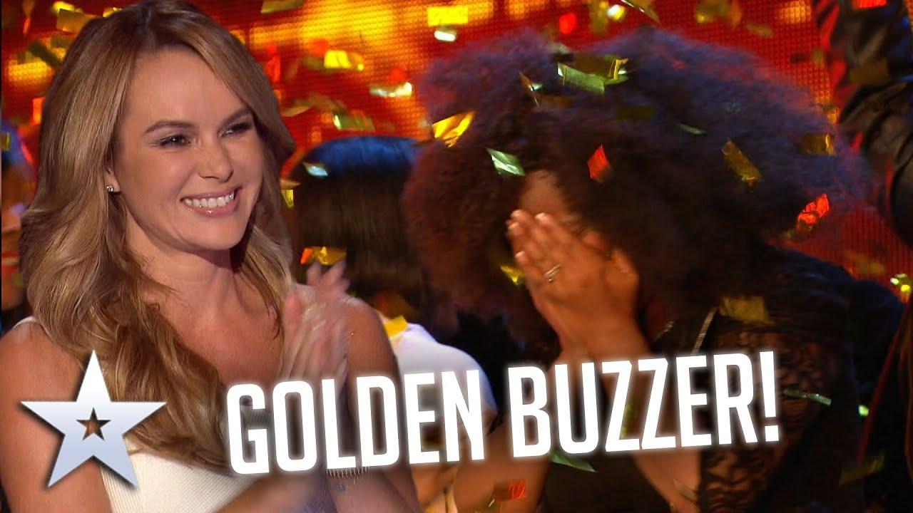 Amazing gospel choir get a GOLDEN BUZZER! I Auditions I BGT Series 9