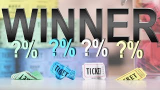 How to Hack and Win A Raffle | 3 Tests to the Secret to Winning a Lottery!