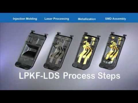 Laser-Direct-Structuring (LDS) of 3D-MIDs