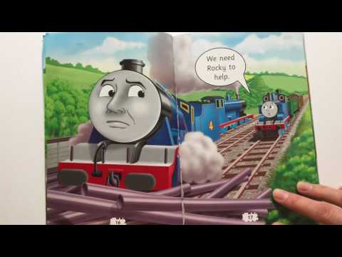 "Read-Aloud ""The Big Job"" by Thomas and Friends - A Book for Kids"