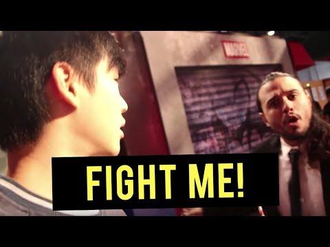 I GOT IN A FIGHT??!