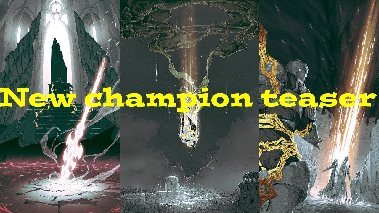 New Champion Teaser 2020 New League Of Legends Champion Teaser Preview   Visions of Demacia