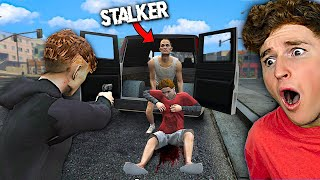 I Got TAKEN By The STALKER In GTA 5 RP.. (TERRIFYING)