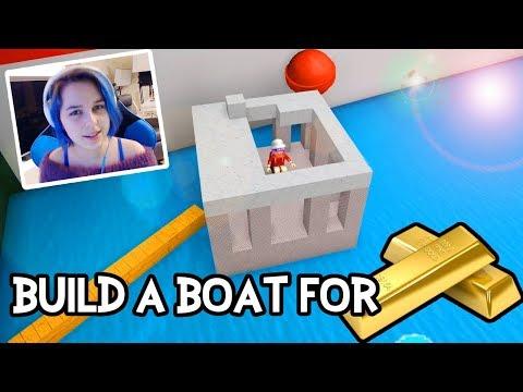 BUILD A BOAT 🚤 FOR TREASURE IN ROBLOX!