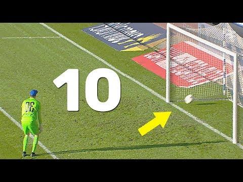 Топ 10 курьезных и неожиданных голов в футболе