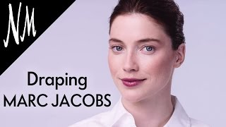 Draping Makeup Tutorial: How To Contour with MARC JACOBS Air Blush | NM